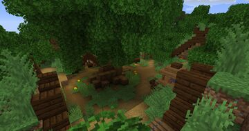 Viking village in the woods Minecraft Map & Project