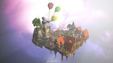 Festival Medieval Village Minecraft Map & Project