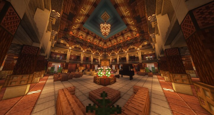 Visit the majestic Main Hall for a relaxation and a little drink