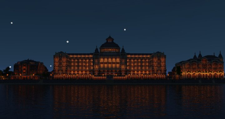 The Kurhaus is always open and will always shine some light into the sea