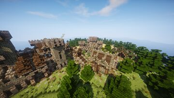 Epic Medieval Spawn (2) - Minecraft Cinematic + Free Download Minecraft Map & Project