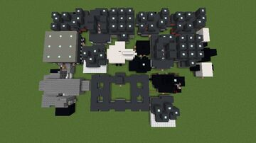 Micro FNaF V.2 (Biggest FNaF Map V.2) Minecraft Map & Project
