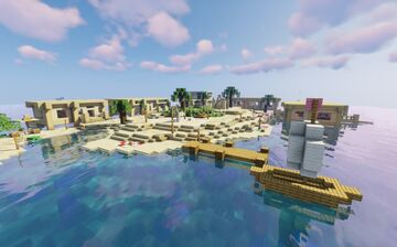 -Paradise Island- Minecraft Map & Project