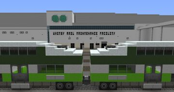 GO Whitby Rail Maintenance Facility (Whitby, ON) Minecraft Map & Project