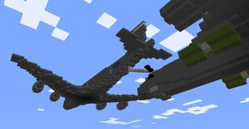 1.5:1 KC-135 refueling B-52H Minecraft Map & Project