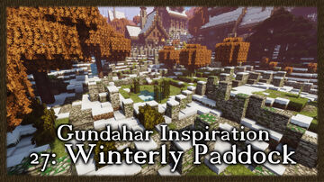 Snowy Paddock Minecraft Map & Project