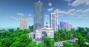1:1 Montréal McGill tower Minecraft Map & Project