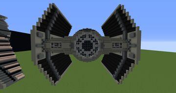 TIE Advanced x1 | Minecraft 1.12.2 Minecraft Map & Project