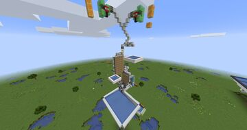 Simple 100,000/h Nether Tree Farm Minecraft Map & Project