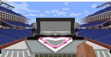 Emotions of Love Stadium Tour (Custom Tour at Gillette Stadium) (MOD NEEDED) Minecraft Map & Project