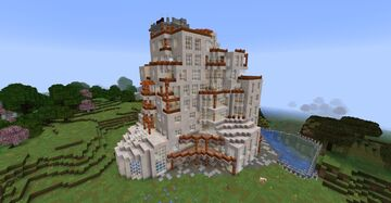 Luxurious Resort Minecraft Map & Project