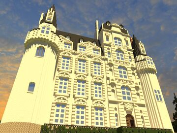 Chateau de Brissac - french castle Minecraft Map & Project