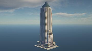 Worldwide Plaza - A Minecraft Recreation Minecraft Map & Project