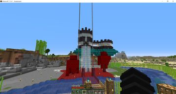 DanTDM's minecraft hardcore base on real seed Minecraft Map & Project