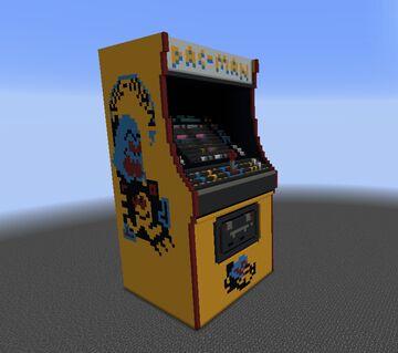 Pac-Man Machine (Test Build) Minecraft Map & Project