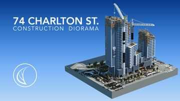 74 Charlton St. | Construction Diorama Minecraft Map & Project