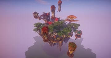 Bwen Medieval Skyland-Timelapse [Free Download] Minecraft Map & Project