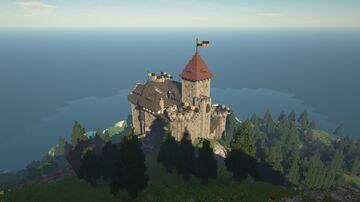 Burg Hohenfindelsburg Minecraft Map & Project
