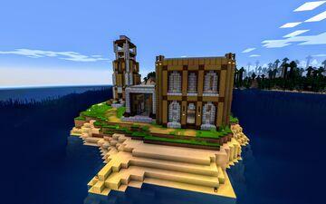 St. Venerius Island Minecraft Map & Project