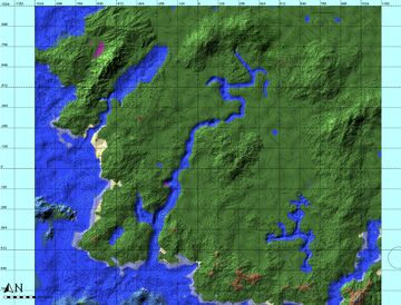 Hilly world with some moutains and rivers Minecraft Map & Project