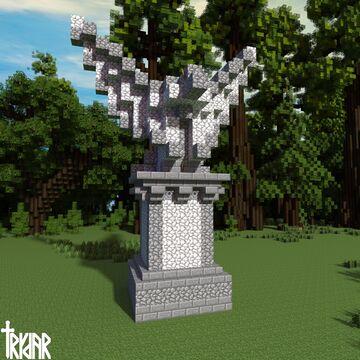 Roman Eagle Statue +tutorial Minecraft Map & Project