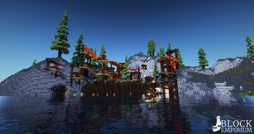 The Camp of the Moustache-Murderers Minecraft Map & Project