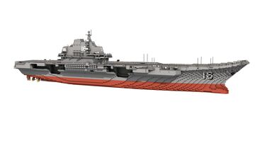 CNS Liaoning (CV-16) 1:1 scale Minecraft Map & Project
