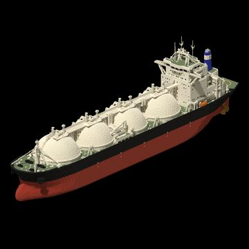 LNG Carrier Minecraft Map & Project
