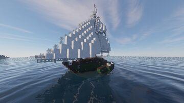S.V. Maravillosa Sailing Trimaran Minecraft Map & Project