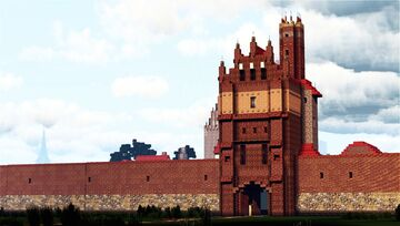 Stolper Tor, Anklam, Germany Minecraft Map & Project