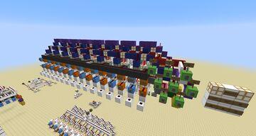 8 Bit Full Adder Minecraft Map & Project