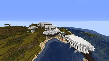 Modern Redstone Mansion Minecraft Map & Project