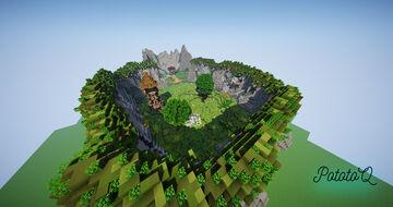 Small Warp PVP Minecraft Map & Project