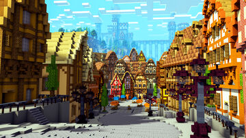 Townsquare Minecraft Map & Project