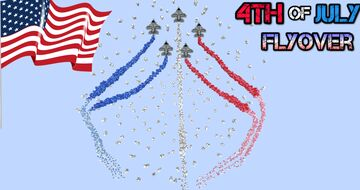 4th of July Flyover Minecraft Map & Project