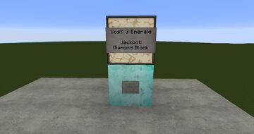 Slot Machine Minecraft Map & Project