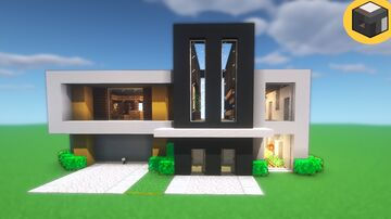 Minecraft EASY MODERN House Minecraft Map & Project