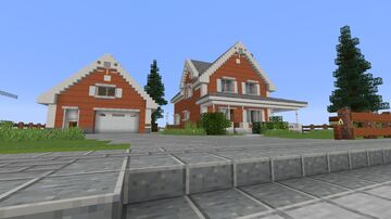 The Cedar Estate - A modern holiday residence. Minecraft Map & Project