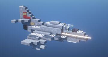 A4 Skyhawk Minecraft Map & Project