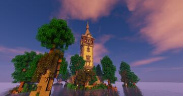 Tower of Loch Treppenwitz Minecraft Map & Project