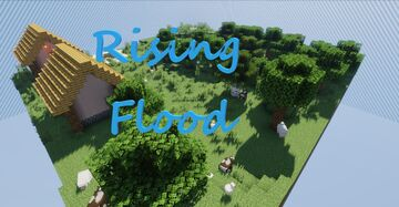 The Rising Flood Minecraft Map & Project