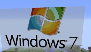 Windows 7 - 10 logos Minecraft Map & Project