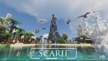 Star Wars Rogue One - Battle of Scarif (Download) Minecraft Map & Project