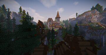 ArterixMC Survival Server Spawn Minecraft Map & Project