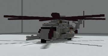 Sikorsky CH-53E Super Stallion (1.5:1 scale) Minecraft Map & Project
