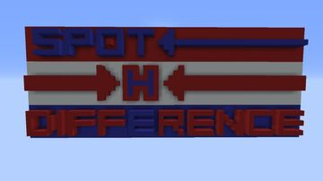 SPOT THE DIFFERENCE Minecraft Map & Project