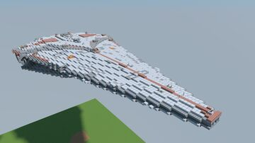 Nebula Class Star Destroyer Minecraft Map & Project