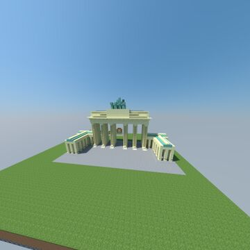 Brandenburger Tor, Berlin, Germany Minecraft Map & Project