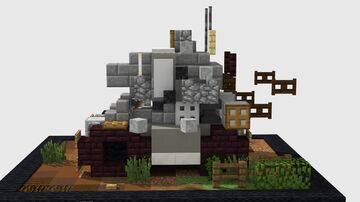 Metal Slug Tank Minecraft Map & Project