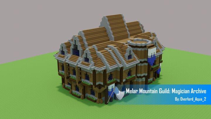 Popular Map : Melar Mountain Guild: Magician Archive